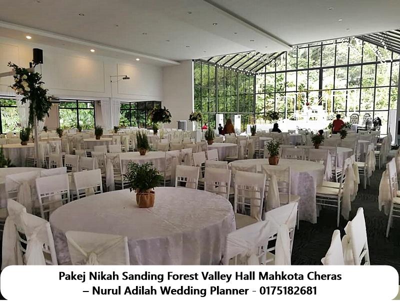 Pakej-Nikah-Sanding-Forest-Valley-Hall-Mahkota-Cheras